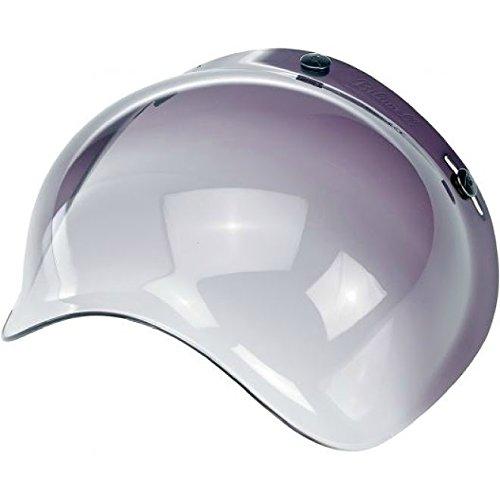 Biltwell Bubble Shield Visor for 3-snap Helmets - Smoke Gradient