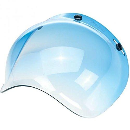 Biltwell Bubble Shield Visor for 3-snap Helmets -Gradient BLUE