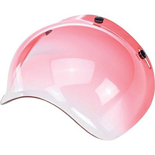 Biltwell Bubble Shield Visor for 3-snap Helmets -Gradient Red