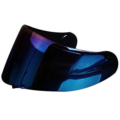 CNS-1 Aftermarket Lens Face Shield Visor for SHOEI GT-AIR NeoTec Helmet Blue