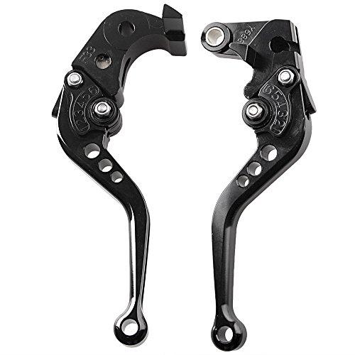 GZYF Pair Adjustable Motorcycle Short Brake Clutch Levers Set fit HONDA 2007 2008 2009 2010 2011 2012 CBR 600RR F5 2008 2009 2010 2011 CBR 1000RR