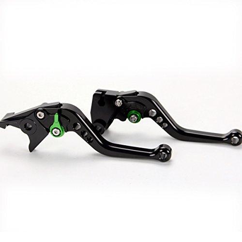 Short Brake Clutch Levers For Kawasaki NINJA 250R 2008-2012 Z250 2013-2014 Z125 pro 2015-2017 NINJA 300RZ300 2013-2017 Black
