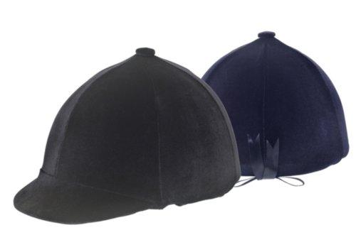 Ovation Zocks Velvet Helmet Cover - SizeOne Size ColorBlack