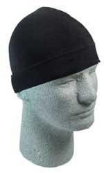 Zan Headgear Fleece Helmet Liner With Neoprene Ear Cover - One size fits mostBlack