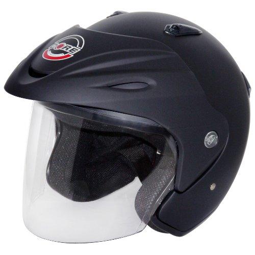 Core Jet Open-Face Helmet Flat Black X-Small