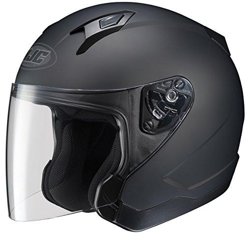 HJC CL-JET Open-Face Motorcycle Helmet Matte Black X-Large