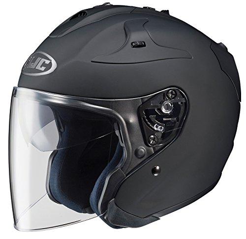 HJC FG-JET Open-Face Motorcycle Helmet Matte Black Medium