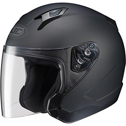 HJC Solid CL-Jet Half 12 Shell Motorcycle Helmet - Matte Black  Large