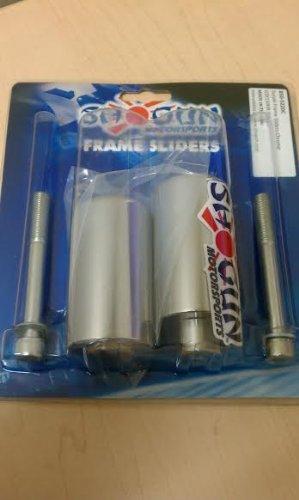 Shogun Motorsports Frame Sliders Chrome Suzuki GSX-R1300 Hayabusa 08-13