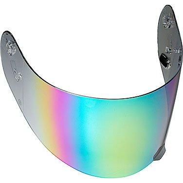 Hjc Helmets Hj-09 Unisex-adult Full-face-helmet-style Replacement Helmet Face Shield (rainbow,one Size)