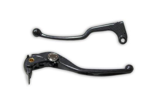 Brake Clutch Levers - Honda CBR 600RR 07-11 CBR 1000RR 08-11 - Carbon Look