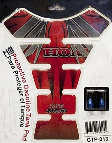 Yana Shiki USA GTP013 RedBlackSilver Tank Pad Honda Rr