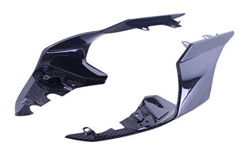 Bestem CBYA-R115-TFR-MT Full Carbon Fiber Tail Fairings LR in Twill Weave for Yamaha R1 2015 2016