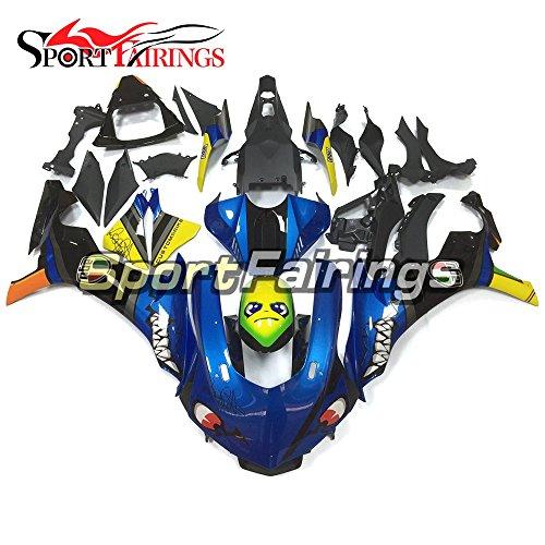 Sportfairings Complete Fairing Kit For Yamaha YZF 1000 R1 2015 2016 Year 15-16 Motorcycle Blue Yellow Bodywork