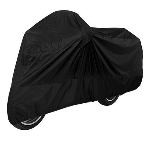 Black Motorcycle Cover For YAMAHA R-1  R-6 Motorcycle Cover L