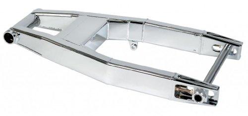 Trac Dynamics ALM-51526 Chrome Aluminum Swingarm for Suzuki Yamaha R-1 - 10 Over