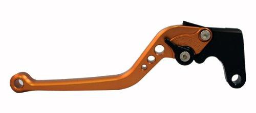 Motobrackets standard 4 adjustable GOLD clutch lever for Honda 2002-2003 CBR954RR 2003-2009 CBR600RR 2008-2009 CBR1000RR Fireblade and Yamaha 1999-2004 YZF R6 2002-2003 YZF R1 2001-2005 FZ1 Fazer 2006-2009 R6S 2005-2009 YZF R6 2004-2009 YZF R1