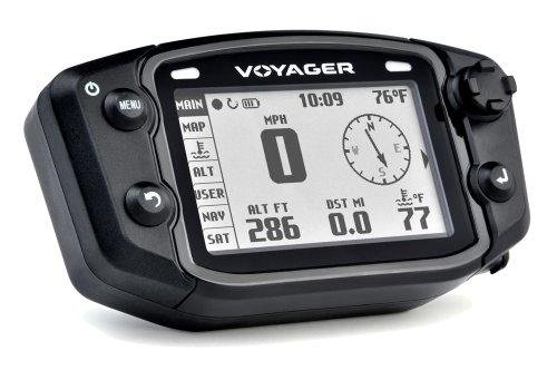 Trail Tech 912-700 Voyager Stealth Black Moto-GPS Computer