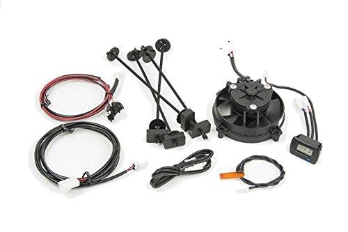 Trail Tech 732-FNA1 TTV Temperature Switching Digital Universal Radiator Fan Kit1 Pack