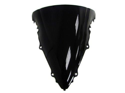 TMS Yamaha 2003-2005 YZF R6  2006-2009 R6s Tinted Black Smoke Windscreen Windshield
