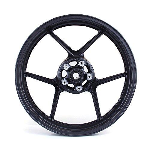 Areyourshop Front Wheel Rim For Kawasaki ZX6R 2005-2012 ZX10R 2006-2010 Black