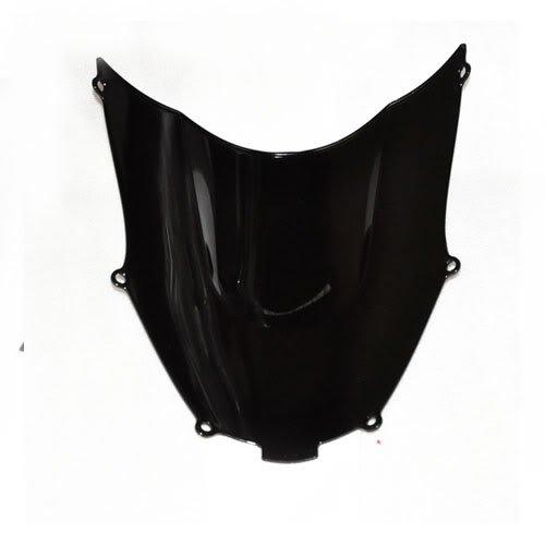 Wotefusi New Motorcycle Black Dark Smoke Windscreen Windshield For Kawasaki ZX9R 2001-2003 2002