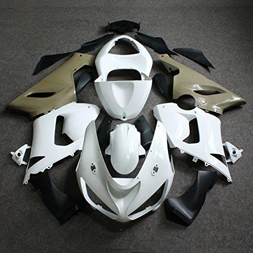 ZXMOTO Unpainted Fairing Kit for Kawasaki Ninja ZX-6R 636 2005-2006