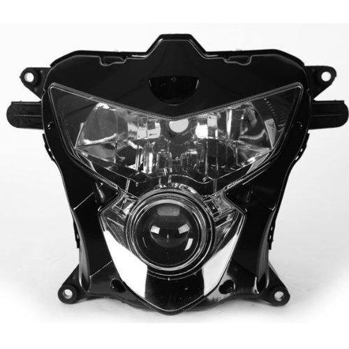 TCMT Black Left Right Headlight Head Light Lamp Cover For SUZUKI GSXR 750 GSX-R600 GSXR600 2004 2005