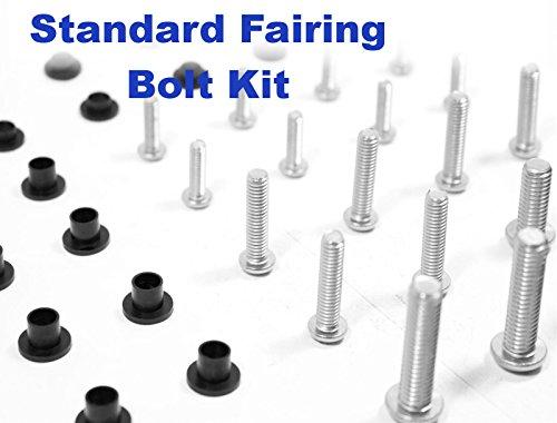 Standard Motorcycle Fairing Bolt Kit Suzuki GSX 750 F Katana 1989 - 1997 Body Screws Fasteners and Hardware