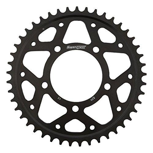 Supersprox RFE-829-45-BLK Rear Steel Sprocket Black For Suzuki GSX 750 F Katana 89 90 91 92 93 94 95 96 97 98 99 00 01 02 03 04 05 06 RF 600 R 93 94 95 96 97 VZ 800 Marauder 97 98 99 00 01 02 03 04