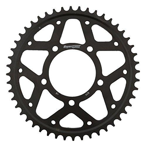 Supersprox RFE-829-48-BLK Rear Steel Sprocket Black For Suzuki GSX 750 F Katana 89 90 91 92 93 94 95 96 97 98 99 00 01 02 03 04 05 06