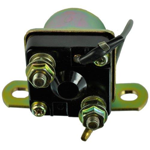 Starter Relay Solenoid For Suzuki GN125 GN250  GS250 GS300 GS400 GS450 GS550 GS650 GS750 GS850 GS1000 GS1100  GSX750  GT185 GT550 GT750  RE5  TC185 1973-1988 OEM Repl 31800-49320 31800-44500