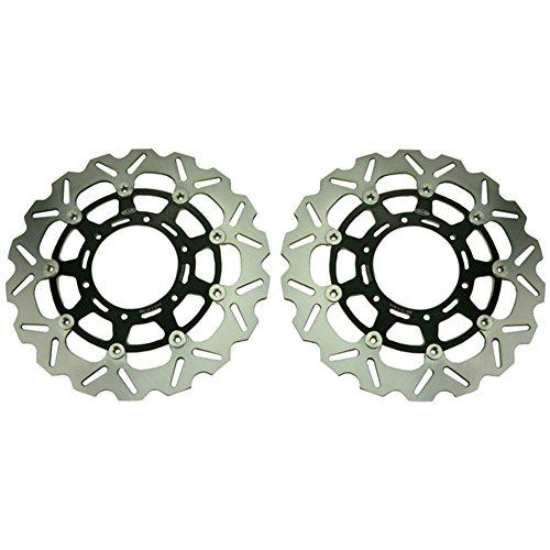 GZYF Front Brake Disc Rotors For Suzuki GSXR 1000 09 10 11 GSXR 600 750 08 09 10 11