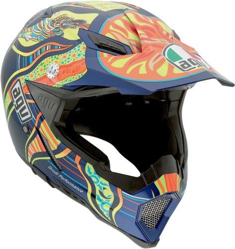 AGV AX-8 Rossi 5-Continents Evo Helmet Multicolor Small