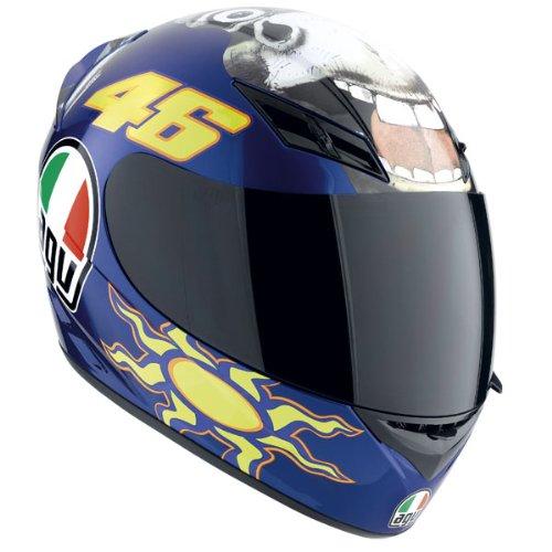 AGV K3 Donkey Valentino Rossi 46 Replica DOT ECE2205 Motorcycle Street Helmet