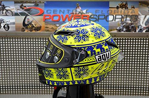 AGV Limited Edition Corsa Valentino Rossi Winter Replica Helmet Medium Large