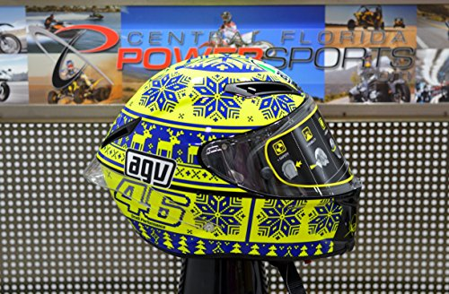 AGV Limited Edition Corsa Valentino Rossi Winter Replica Helmet Medium Small