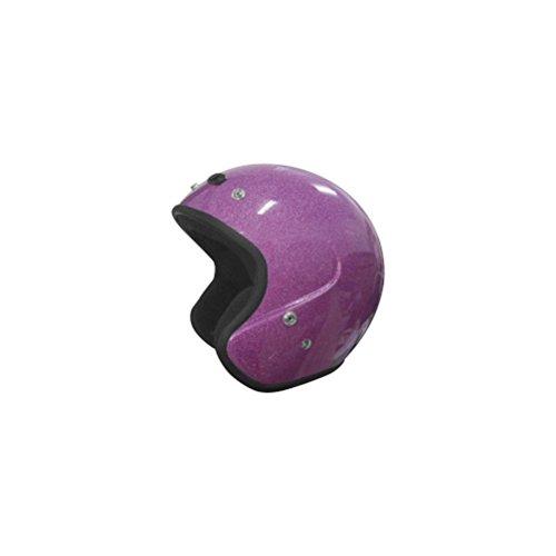 Cyber Helmets U-6 Metal Flake Womens Helmet Distinct Name Hot Pink Gender Womens Helmet Category Street Helmet Type Open-face Helmets Primary Color Pink Size Sm 641453