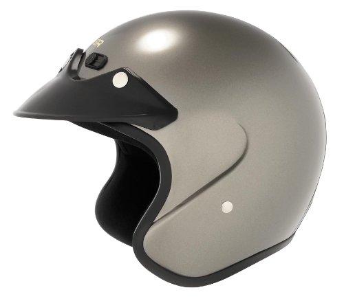 Cyber Helmets U-6 Solid Helmet  Size 2XL Primary Color Silver Distinct Name Deep Silver Helmet Category Street Helmet Type Open-face Helmets Gender MensUnisex 641275