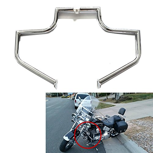 Engine Guard Crash Bar Highway For Harley FLSTN FLSTNI Softail Deluxe FLSTF FLSTFI Fat Boy