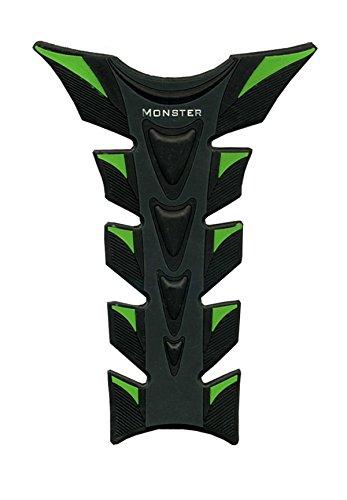 Green Black Motorcycle 3D Fiber Gas Tank Protector Racing Pad Sticker Rubber Decal For KAWASAKI ZX6R 1995 1996 1997 1998 1999