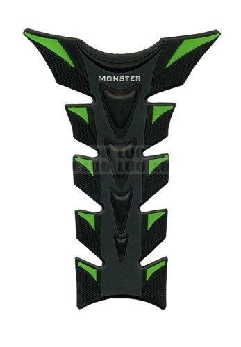 Green Black Motorcycle Racing 3D Fiber Gas Tank Protector Pad Sticker Rubber Decal For KAWASAKI ZX6R 2007 2008 2009 2010 2011 2012