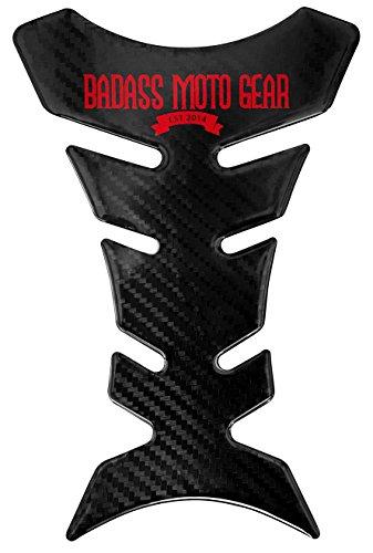 Badass Moto Gear Heavy Duty Motorcycle Gas Tank Protector Pad, Carbon Fiber