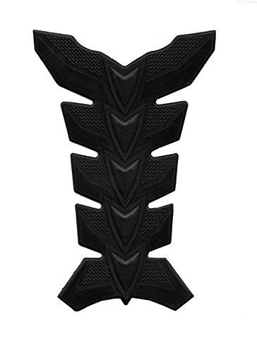 Motorcycle Black Racing 3d Fiber Gas Rubber Decal Tank Protector Pad Sticker For Kawasaki Z1000 2007 2008 2009