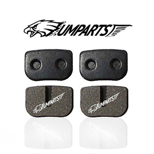 DP2 2 sets UMPARTS Brake Pads for MOTOVOX MBX10 79CC MINI BIKE REAR BRAKE PADS MBX-10 PARTS NEW
