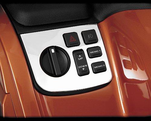 Show Chrome Left Control Panel for Honda GL1800 01-06