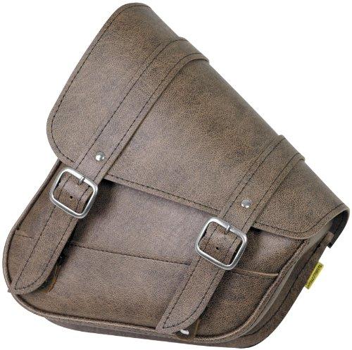 Willie Max Revolution Universal Swingarm Saddlebag - Vintage Brown 59778-00
