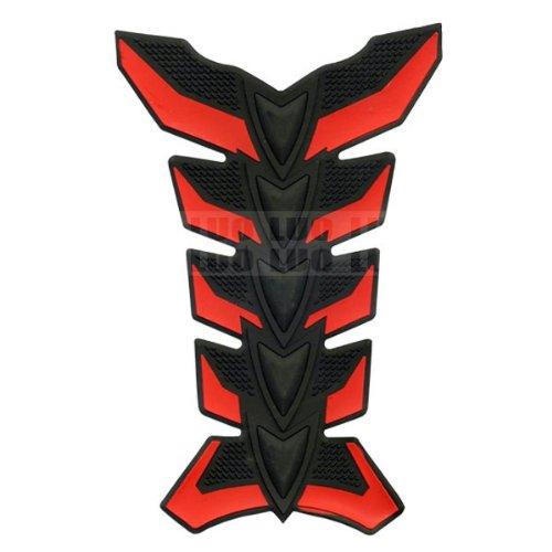 Red Skeleton Motorbike Racing 3D Pad Sticker Rubber Decal Fiber Gas Tank Protector For Aprilia FALCO SL1000 2000 2001 2002 2003 2004