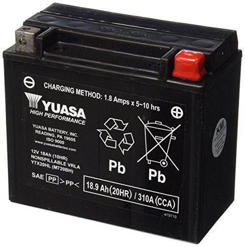 Yuasa YUAM720BH YTX20HL Battery