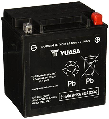Yuasa YUAM7230L YIX30L Battery